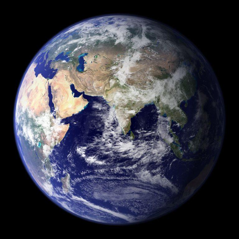 Maapallon kuva avaruudesta