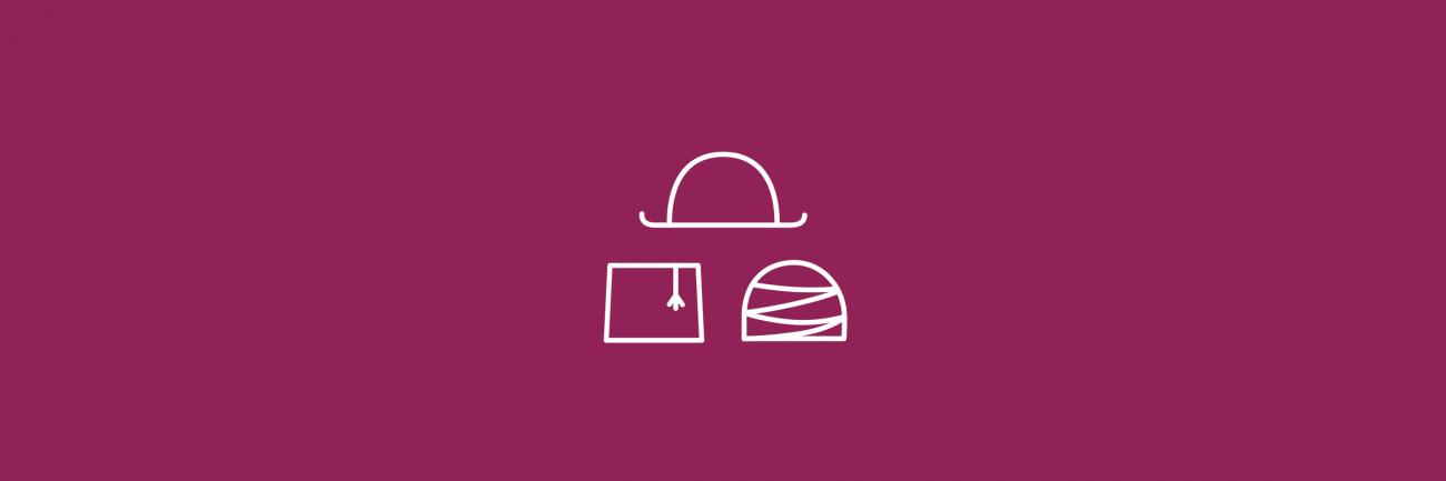 Moninaisuuskasvatus ikoni violetilla taustalla.